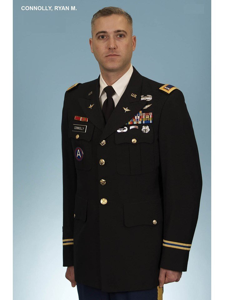 Chief Warrant Officer 3 Ryan Connolly. (Photo provided by the 101st Airborne Division)