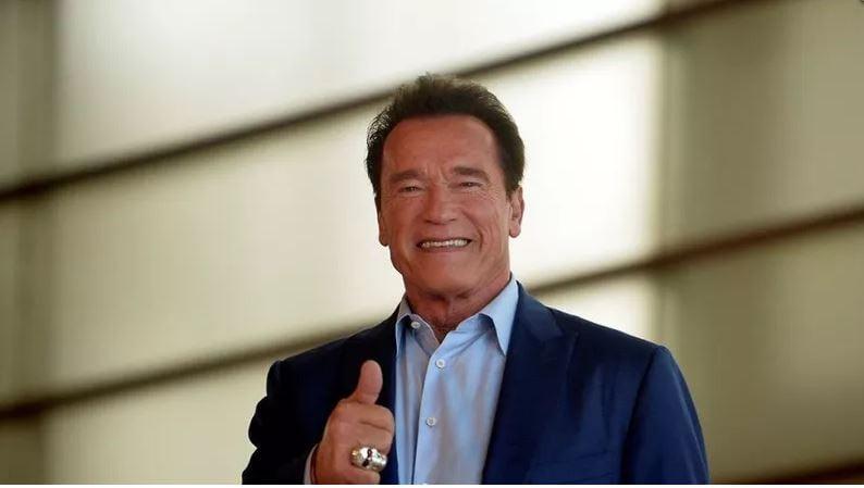 Arnold Schwarzenegger left a Los Angeles hospital Friday after a heart procedure, his spokesman said.