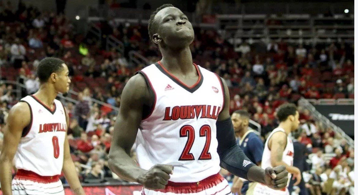 According to Yahoo Sports, Deng Adel has hired an agent and will not return to Louisville for his senior season. (Eric Crawford photo).