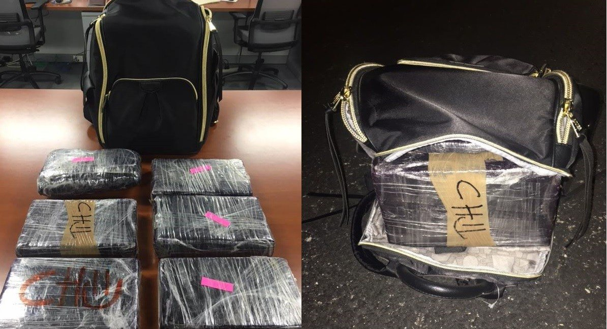 LMPD says it seized 6 kilos of cocaine in a south Louisville traffic stop.