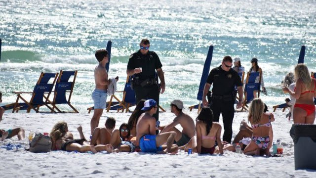 Walton County, Florida Sheriff's Office ranks St. X High School 2nd on the list of spring break arrests.