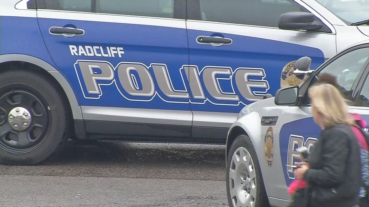 Radcliff Police identified three officers involved in a shooting in the parking lot of John Hardin High School on March 30, 2018.