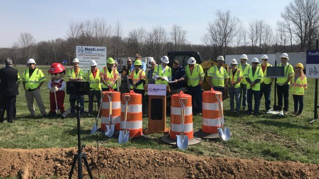 Indiana officials break ground on a project to improve I-65 between Columbus and Seymour.