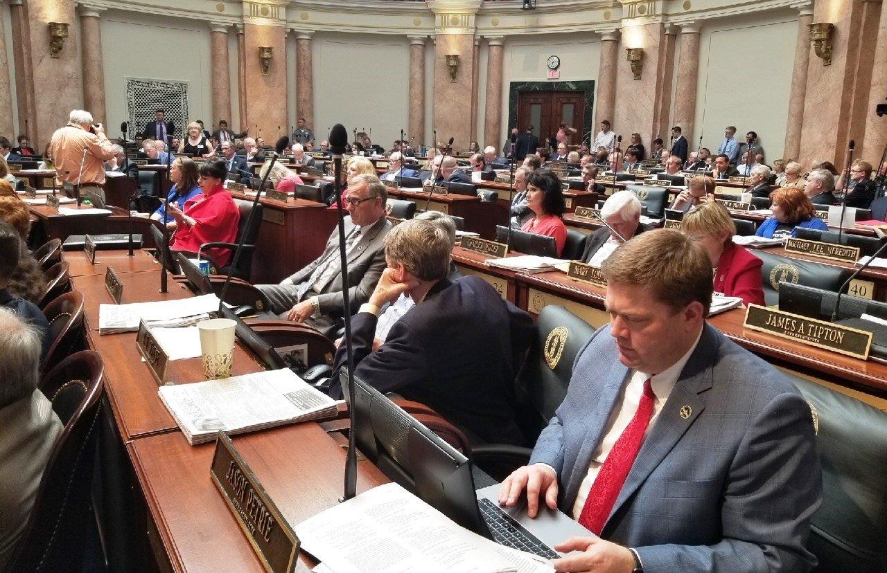 The House floor, April 13, 2018