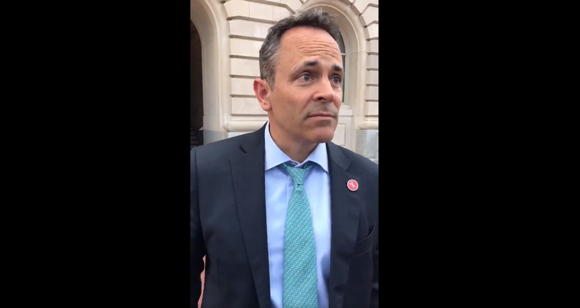 #blackout Bevin: Governor's words prompting another teacher protest