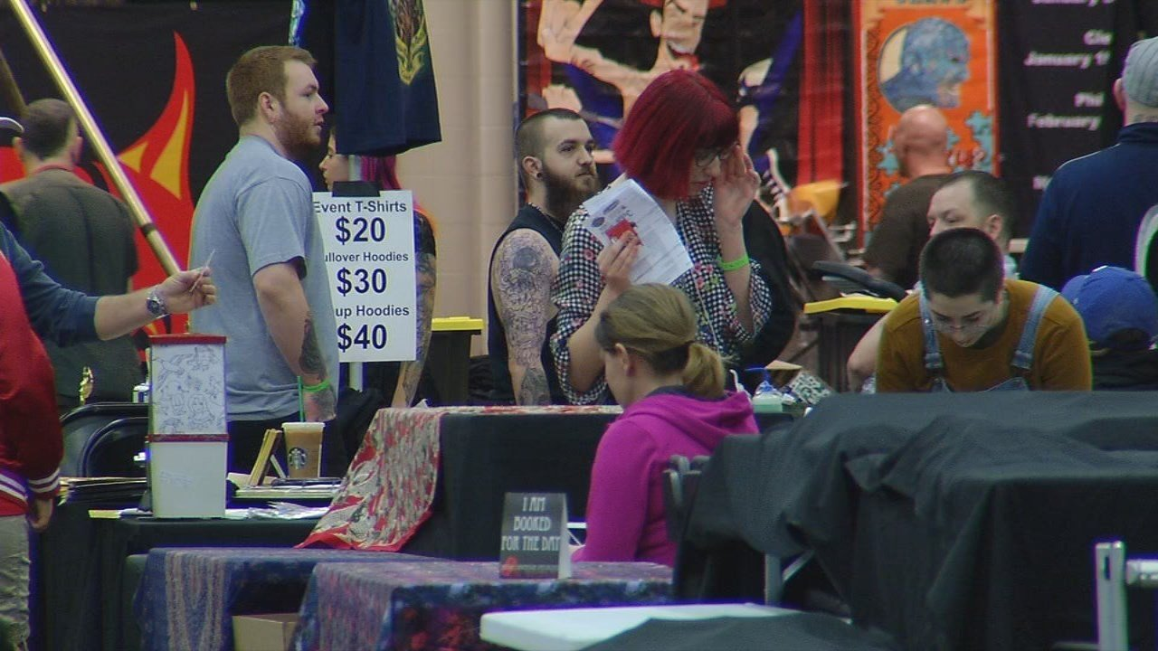 Louisville Tattoo Arts Convention brings in the best ink artists.