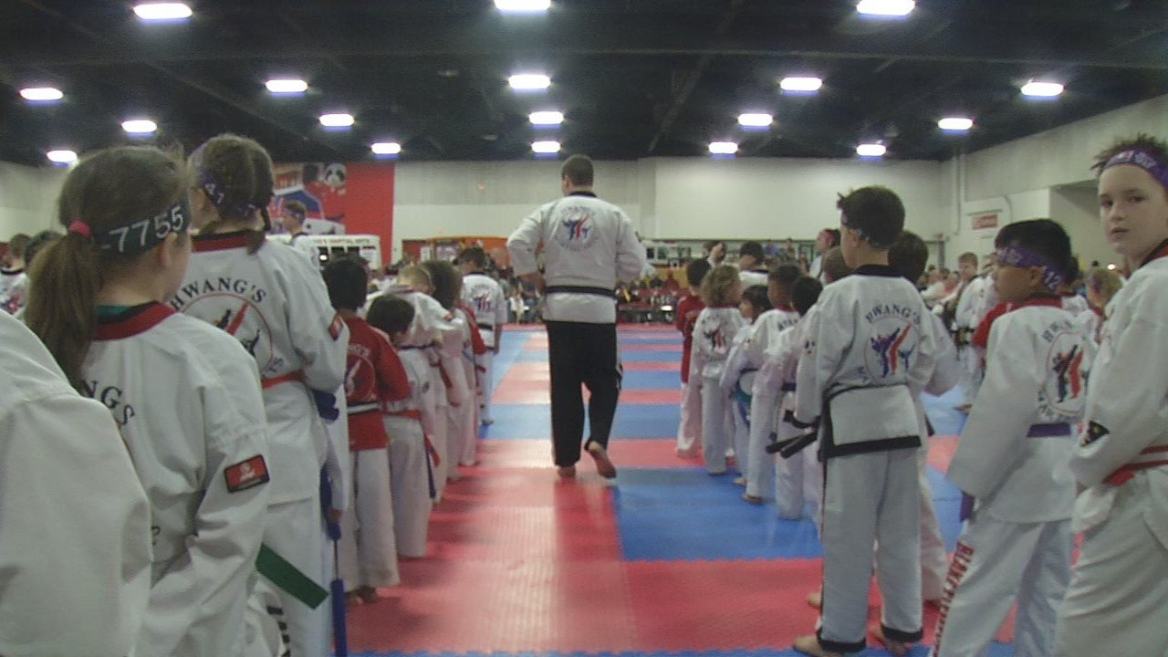 Hwang's Martial Arts held its Louisville Health Kick Festival to benefit the Ky. Humane Society.