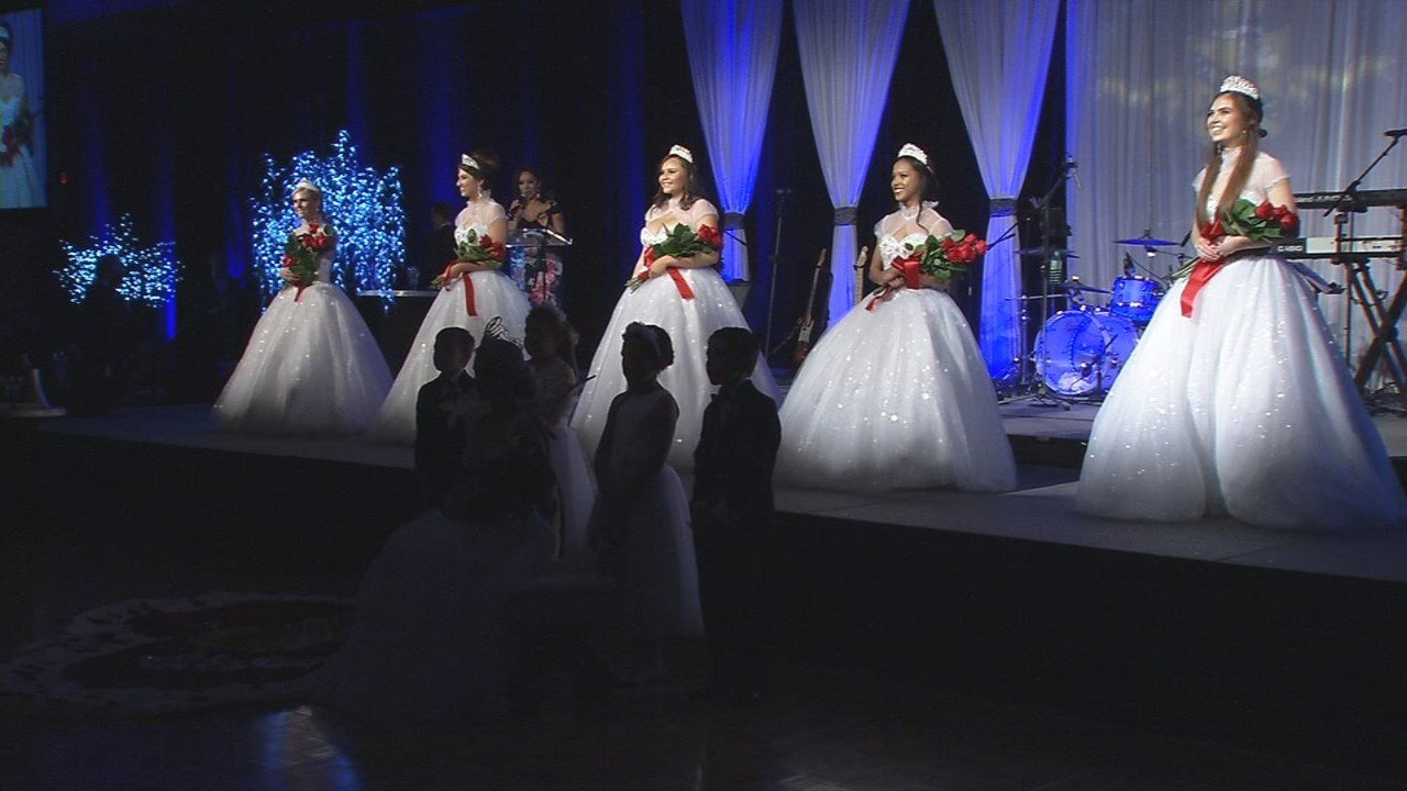 Five women make up the Royal Court for the Kentucky Derby Festival.
