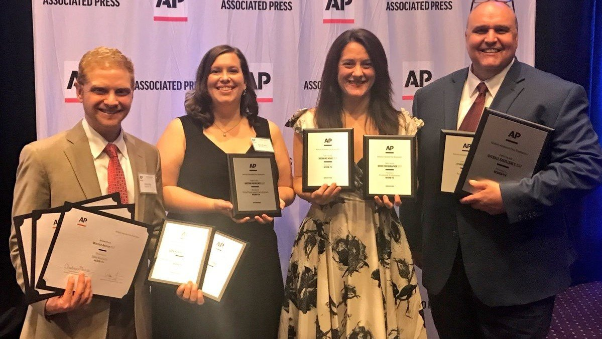 WDRB News received a number of First place awards from the AP including Overall Excellence.