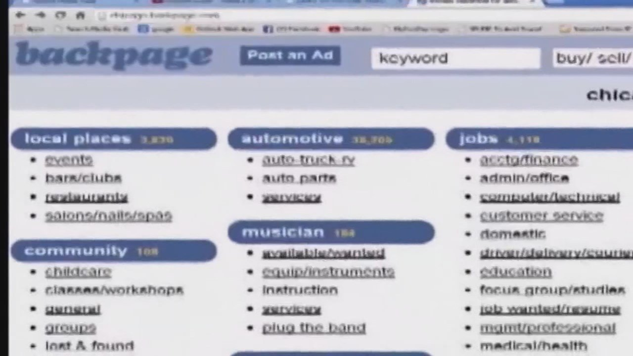 Backpage brought in a half-billion dollars since it began in 2004, mostly though prominent risque advertising for escorts and massages, among other services and some goods for sale, according to federal prosecutors. Authorities allege the site was often u