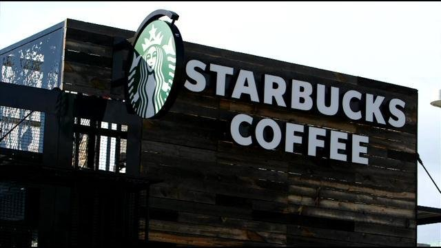 "Starbucks ""stands firmly against discrimination or racial profiling,"" Chief executive Kevin Johnson said in a statement. He said he wants to meet with the men to offer a ""face-to-face apology."""