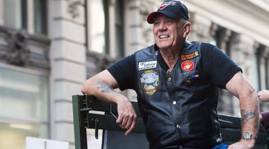 A Kansas native Ermey enlisted in the Marine Corps and age 17 and spent 14 months in Vietnam before he was discharged in 1972