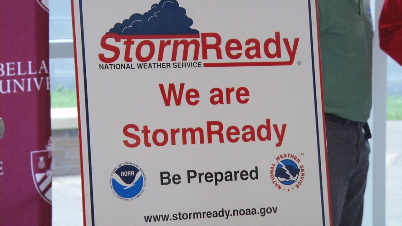 Bellarmine University has earned a StormReady designation from the National Weather Service.