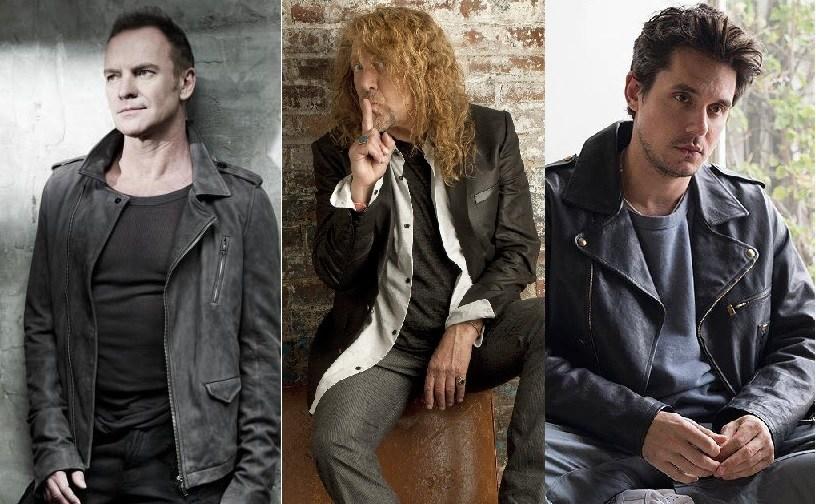 Sting, Robert Plant and John Mayer headline Bourbon & Beyond September 22 & 23, 2018.