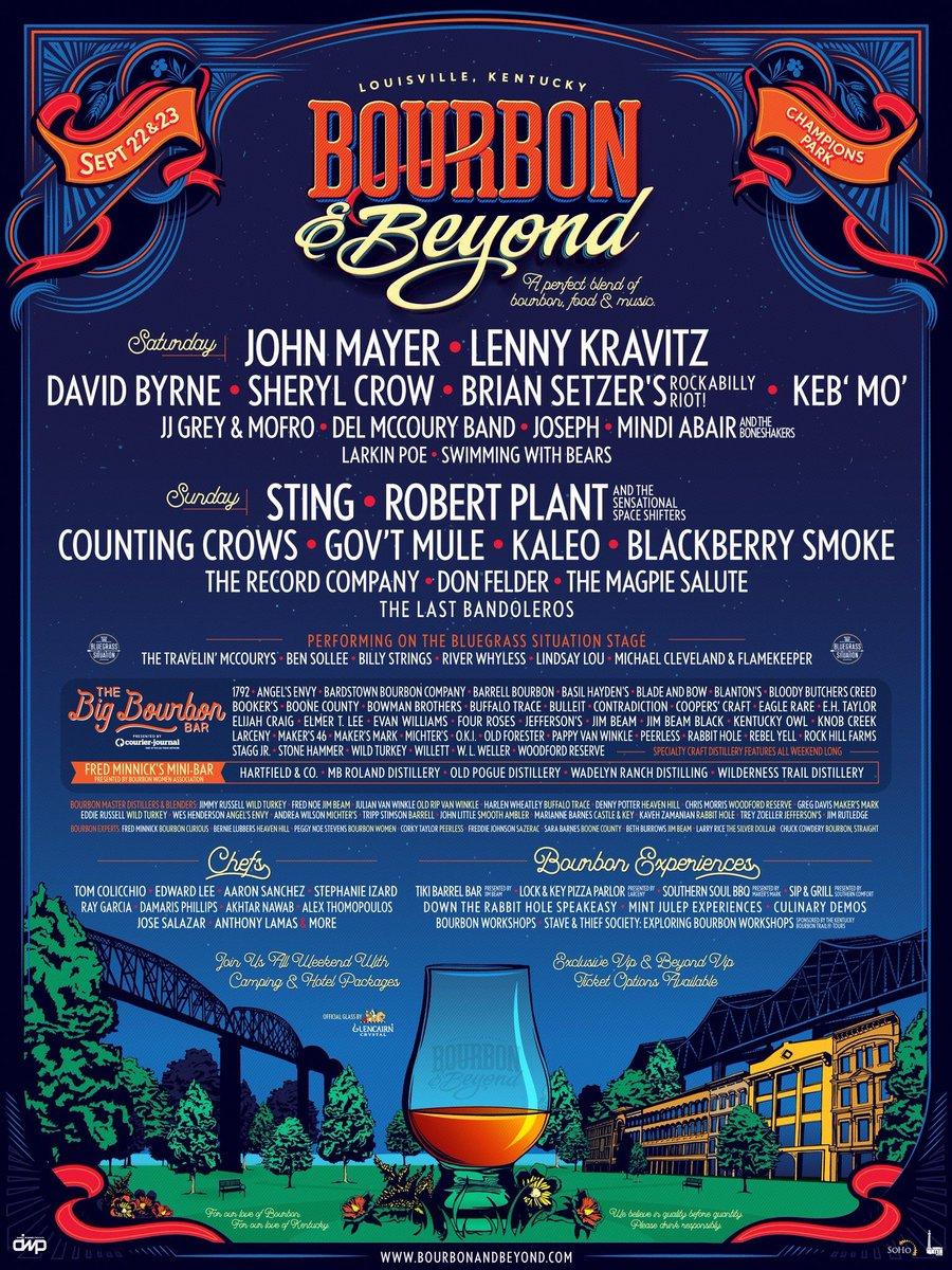Bourbon & Beyond Festival 2018