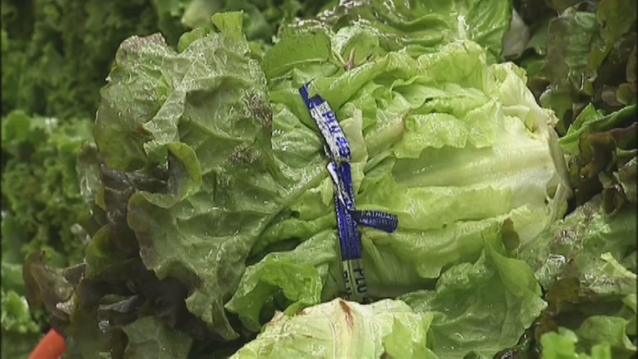 Coli outbreak traced to romaine lettuce