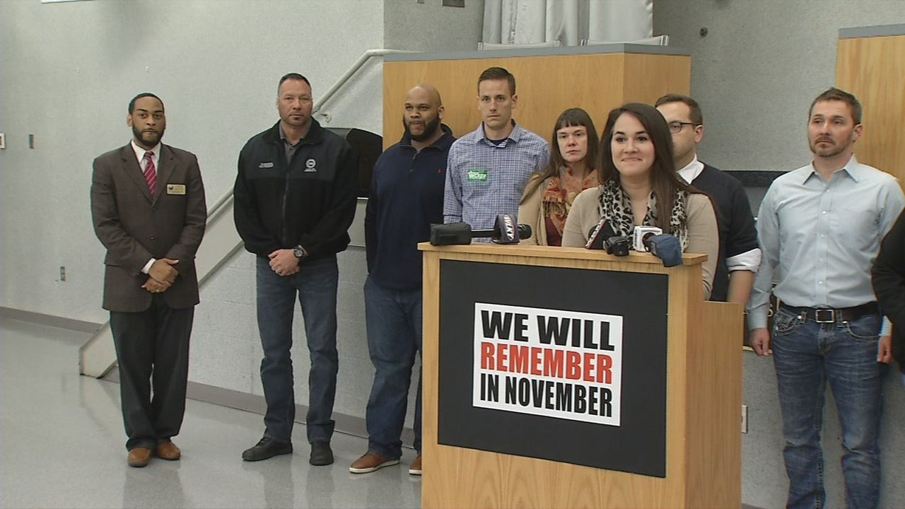Organizers said Monday's new conference was part of a movement to gather support ahead of the November elections.