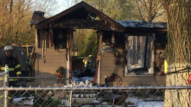 The man who owns this home in the 6600 block of Sylvania Drive in PRP says he lost everything in the fire.