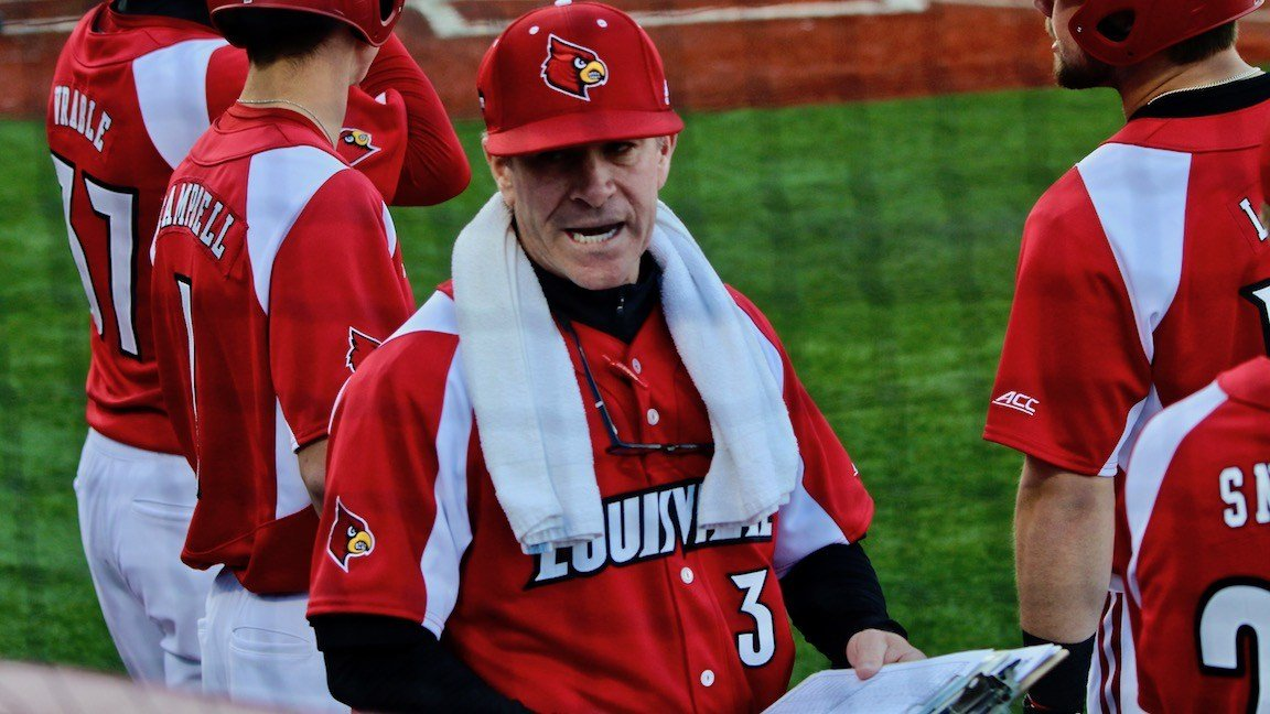 Louisville coach Dan McDonnell said he does not check his team's rankings during the season.  (Eric Crawford photo)