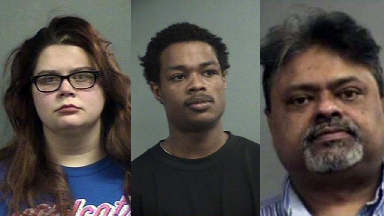 Abigail Varney, Quentin Burris and Nigel Nicholas (Source: Louisville Metro Corrections)