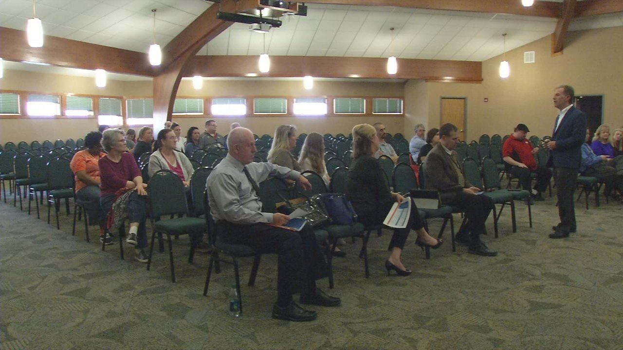 On Wednesday night, Superintendent Brad Snyder held an informative meeting for parentsin the district who would be directly affected by the proposed changed.