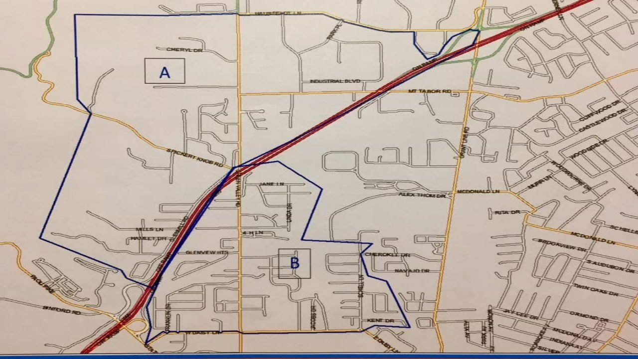 The school board is recommending trustees redistrict a portion of elementary school zones to make student/teacher ratios lower.