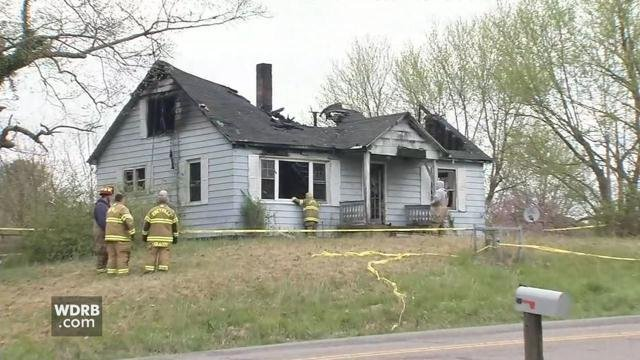 One person was found dead in this home in Hardin County, Ky. on April 19, 2018.