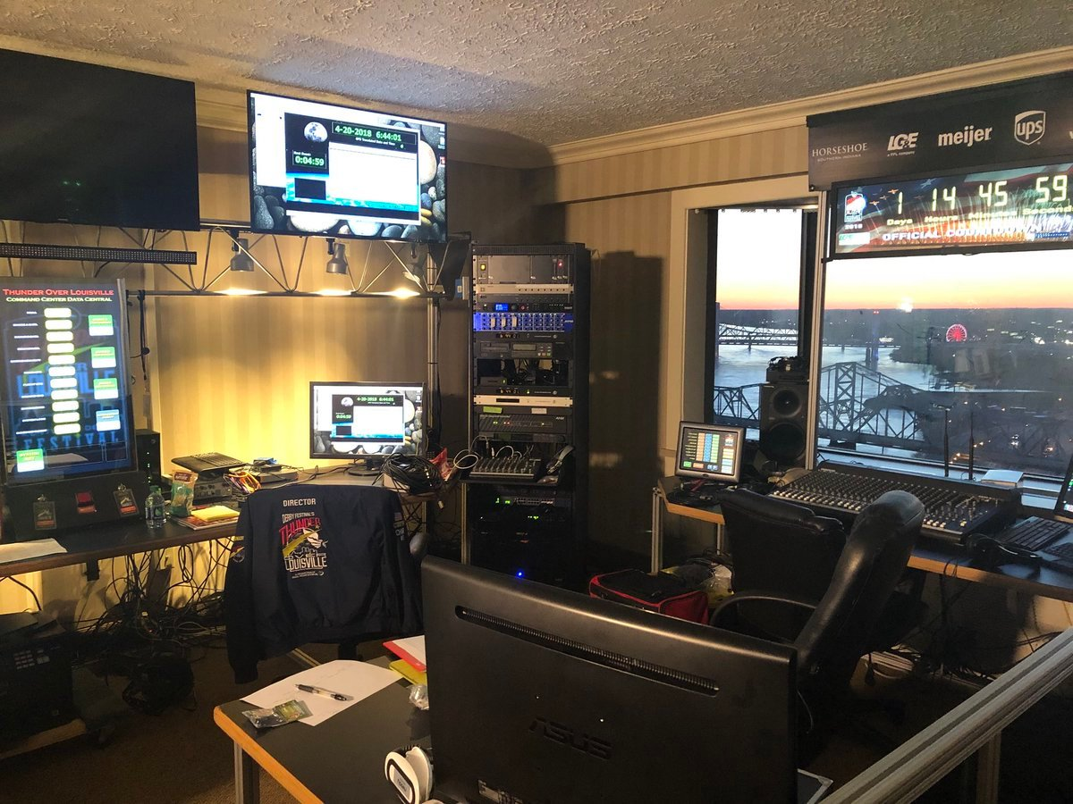 The countdown to Thunder is crunch time in the Command Center.
