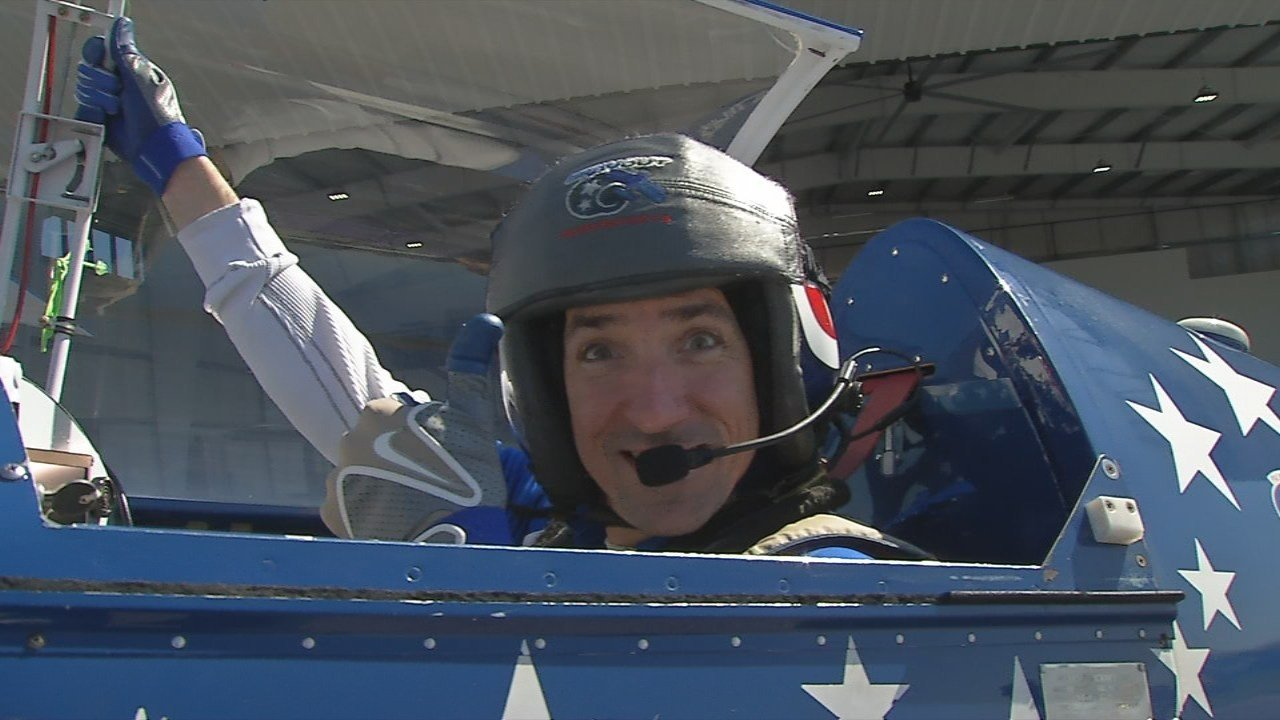 Pilot Billy Werth thrives on a rush of adrenaline.