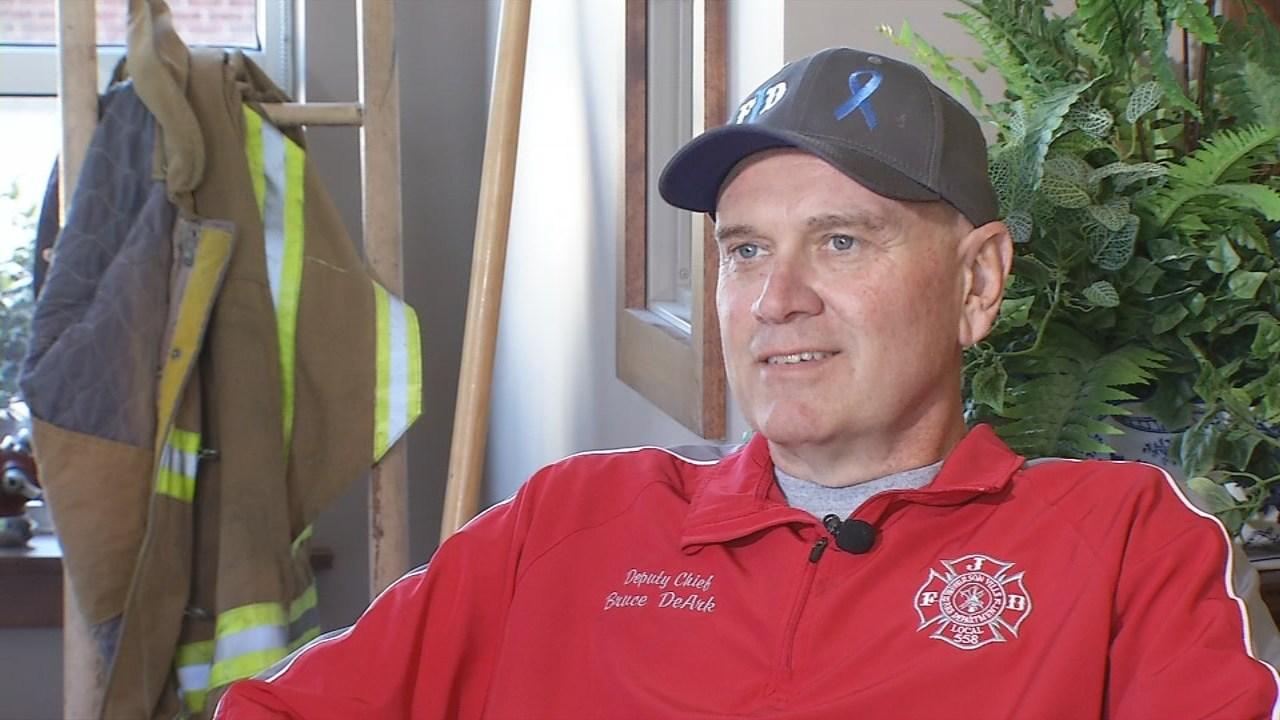 Jeffersonville Deputy Fire Chief Bruce DeArk