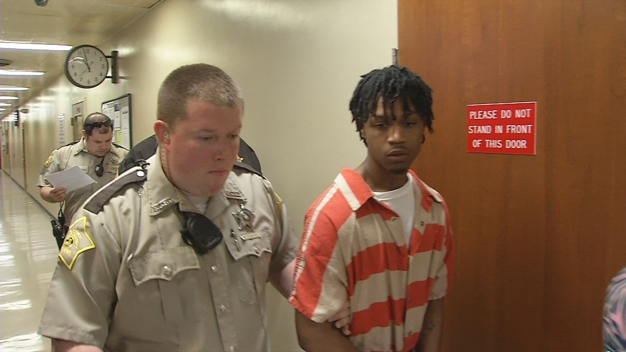 Deante Williams was sentenced to 15 years in prison on Monday for the shooting death of Richard Cozart.
