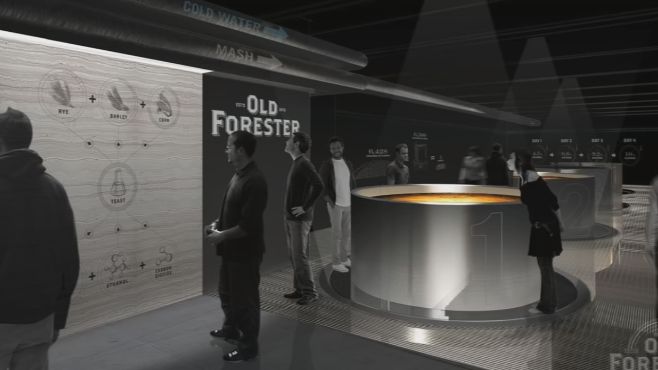 Old Forester Distiller will open on Whiskey Row on National Bourbon Day June 14, 2018.