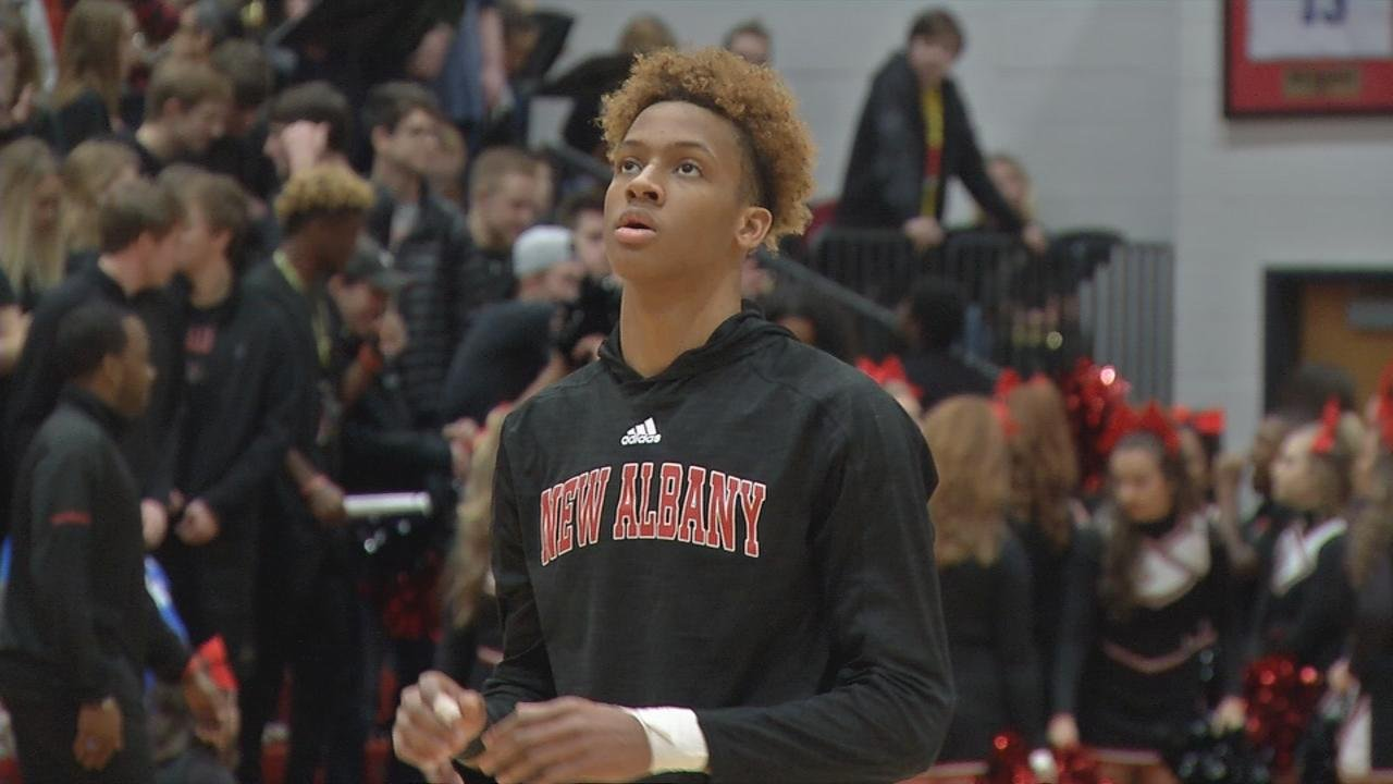 Romeo Langford chooses Indiana