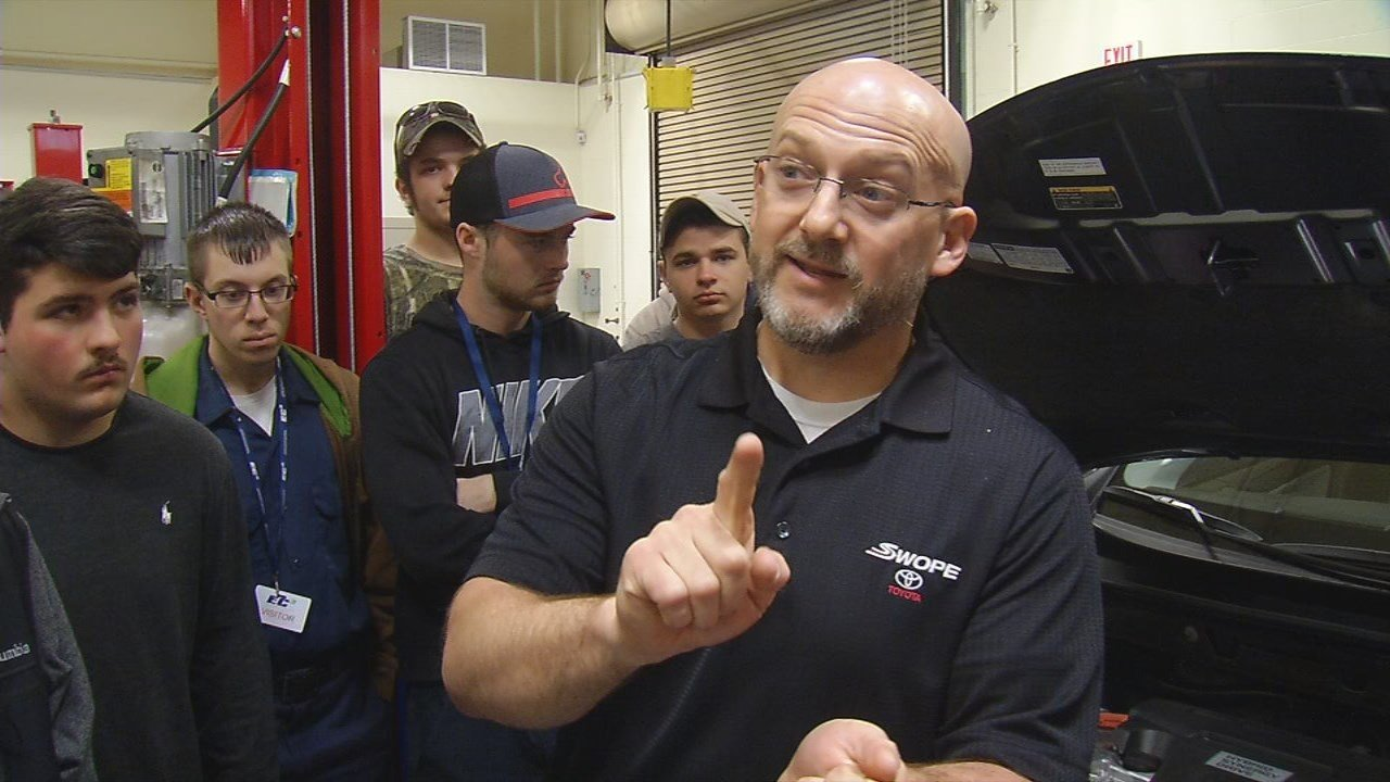 Toyota is helping local students tune up their skills to land a career in the industry.