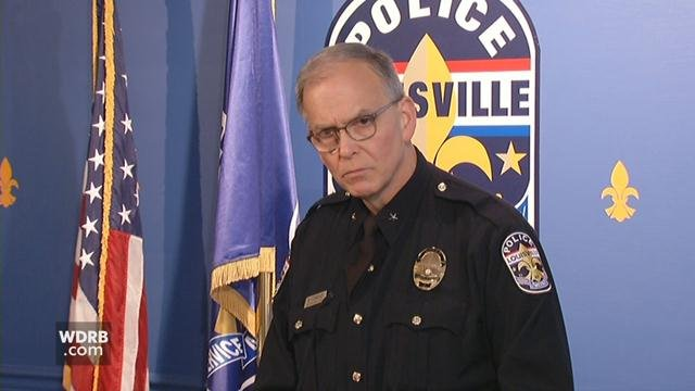 LMPD Chief Steve Conrad says number of recent police shootings is concerning.