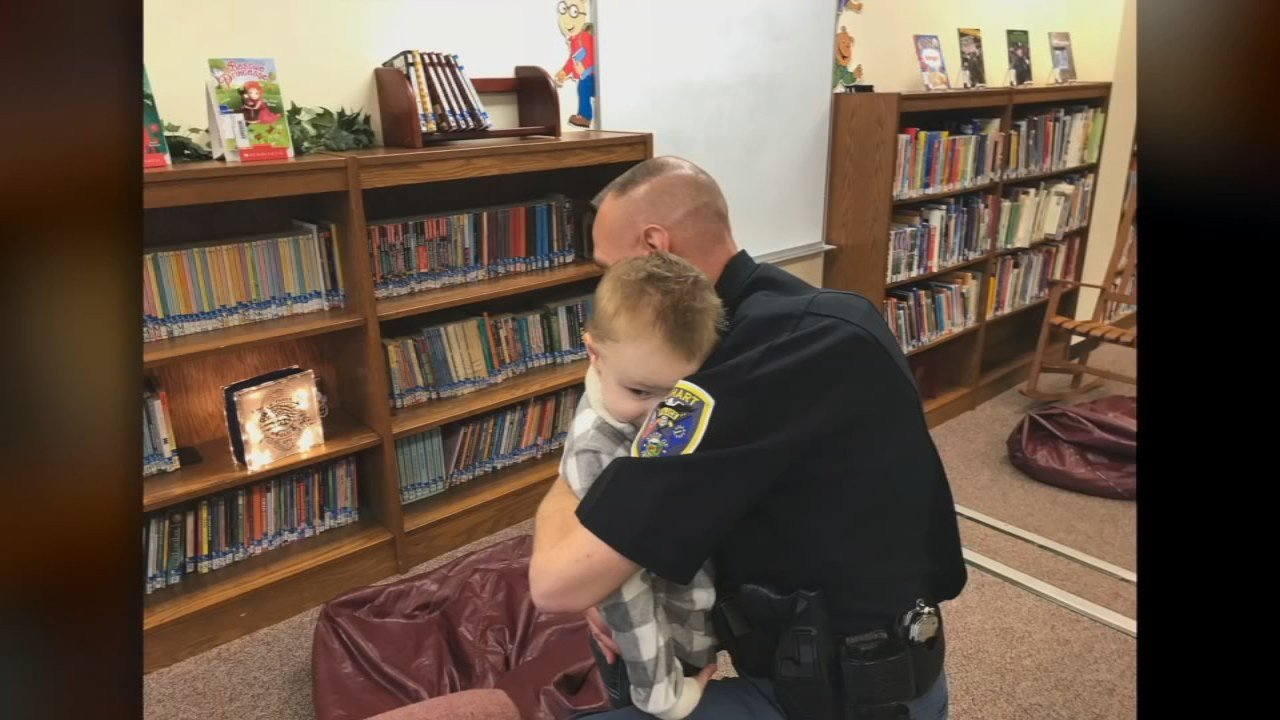 "Brantley wants to be a police officer when he grows up. Earlier this month, he was awarded the title of ""Honorary Sheriff's Deputy."""