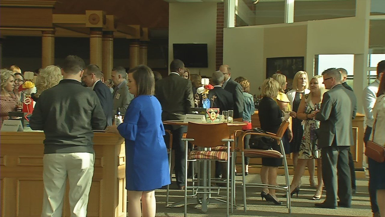 Several JCPS teachers and principals are honored for their hard work Thursday night, during the sixth annual Hilliard Lyons Excellence Awards.