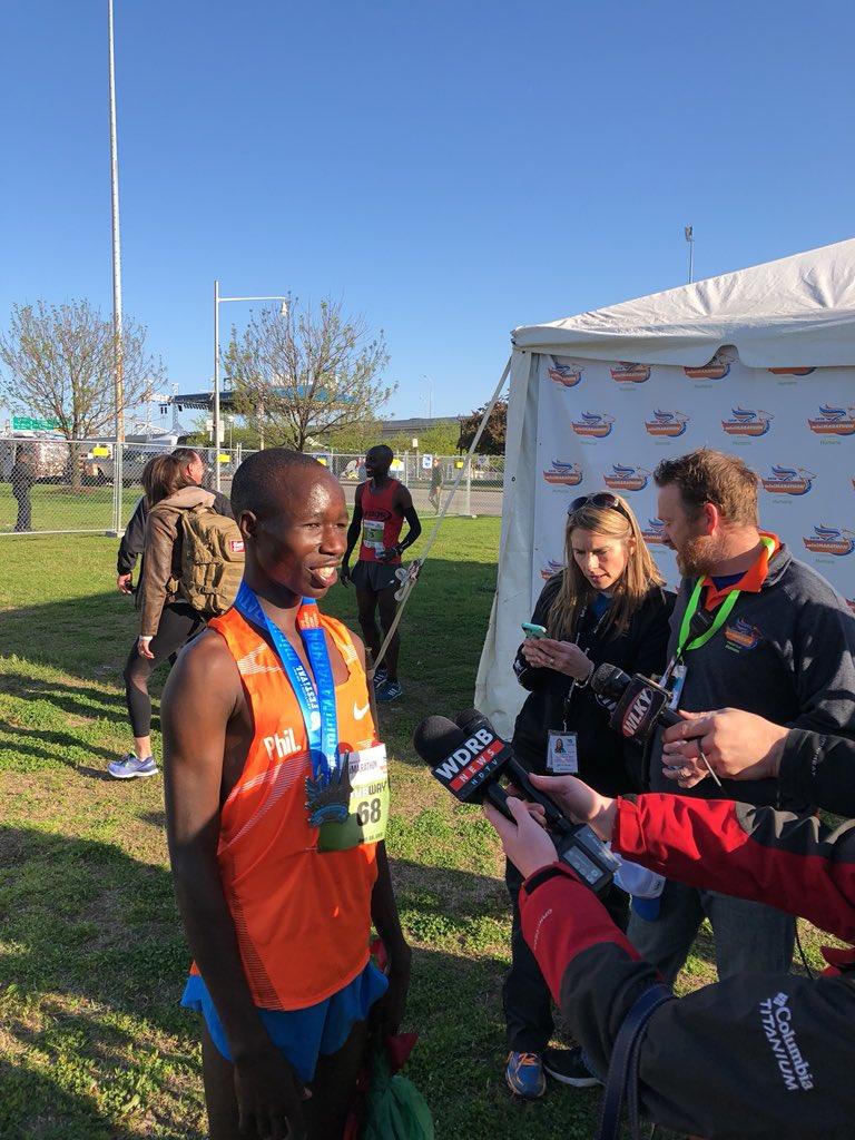 Kosgei Korir (Image Courtesy: KDF Marathon/miniMarathon Twitter)