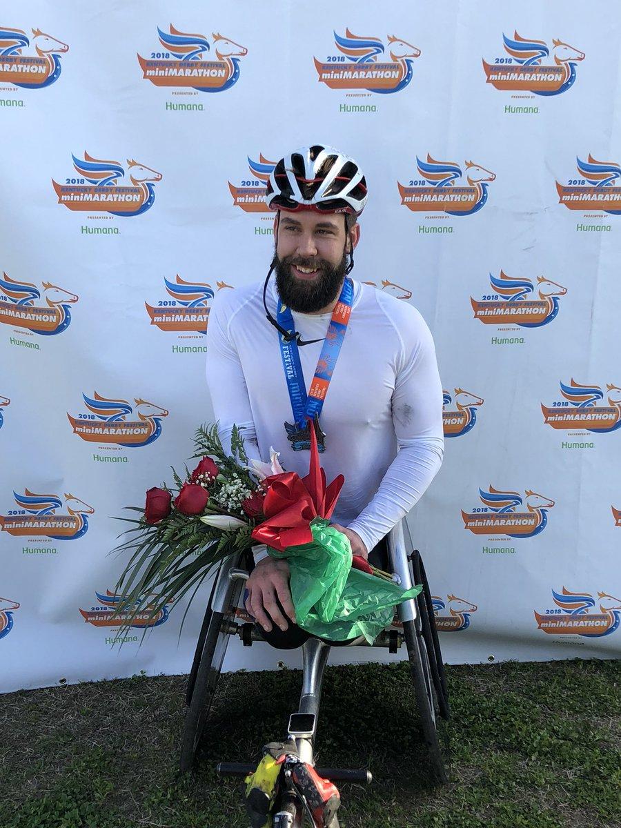 Aaron Pike (Image Courtesy: KDF Marathon/miniMarathon Twitter)