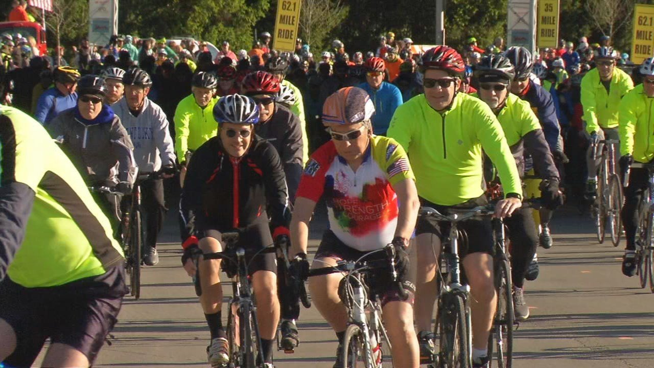 The race, which started and ended at Waterfront Park, was open to cyclists of all experience levels.