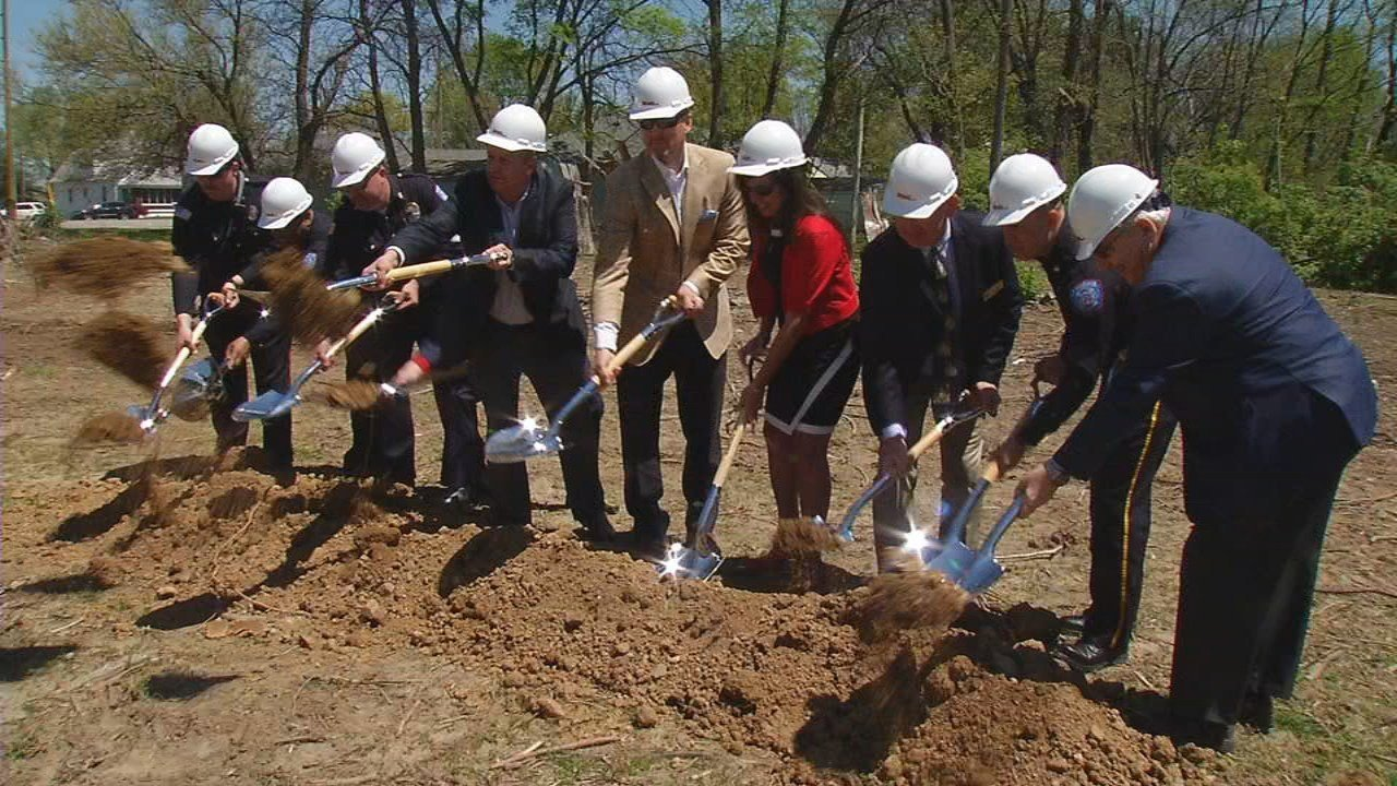 A groundbreaking was held for Fire Station No. 1 Monday afternoon. The $3 million facility will be built at the intersection of Stansifer Avenue and South Sherwood Avenue.