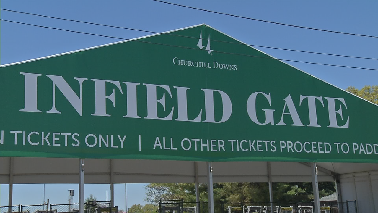 The newly-named Infield gate used to be called Gate 3 on Fourth Street.