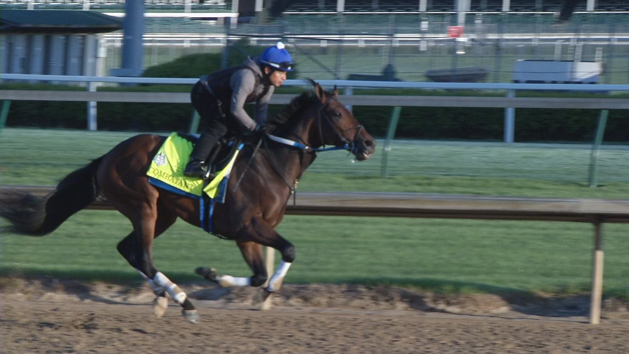 Combatant put in his final work Monday for Derby 144.