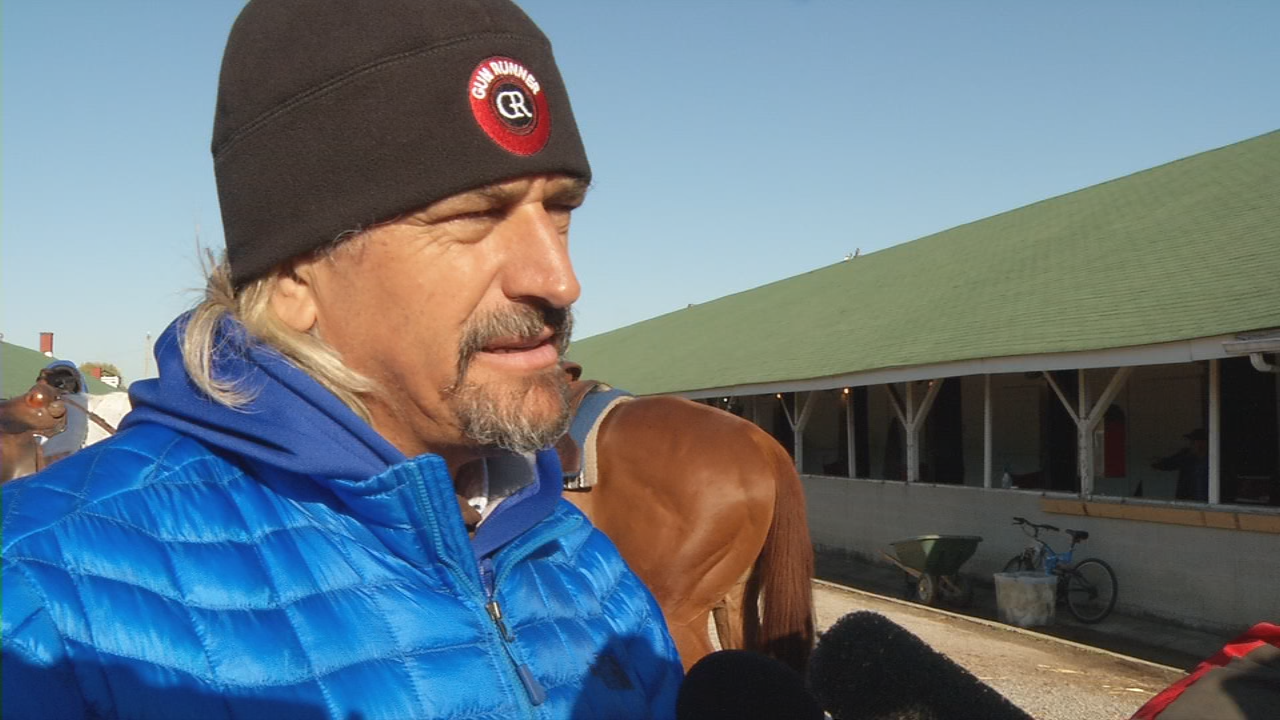 Trainer Steve Asmussen compares Combatant to his long-shot Lookin at Lee that came in 2nd in 2017.