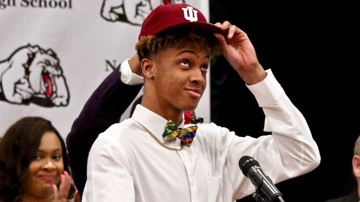 New Albany's Mr. Basketball Romeo Langford will play his college basketball at Indiana.