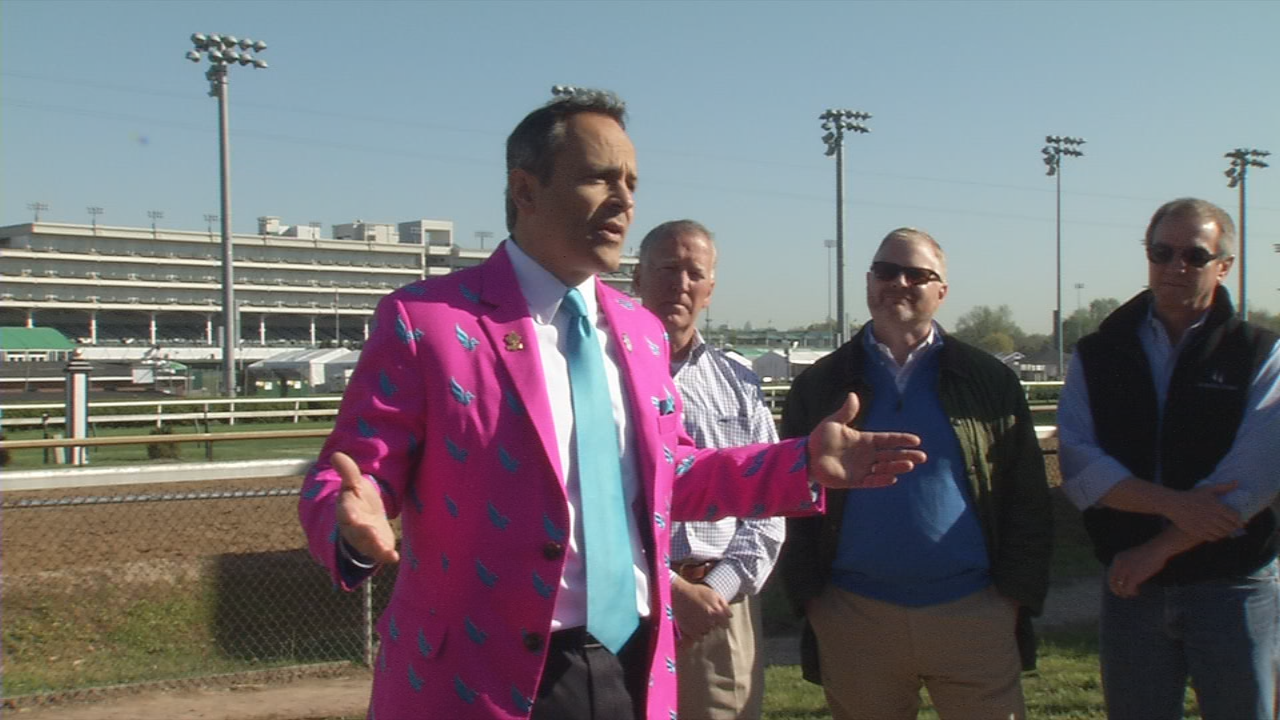 Ky. Governor Matt Bevin signed a bill at Churchill Downs that removes excise taxes from horse wagers.