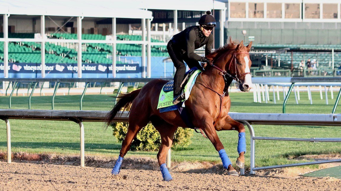 Churchill Downs oddsmaker Mike Battaglia said Justify was an easy pick for the Derby favorite. (Eric Crawford photo)