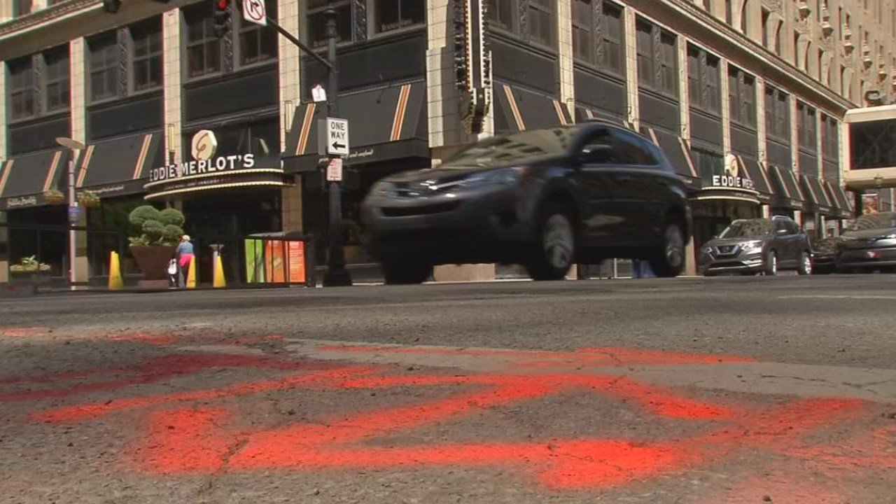 In December, the city announced plans to finally repave some of downtown Louisville's most torn-up streets. Yet six weeks into spring -- and three days before the city's premiere event of the year -- those streets are as bad as ever.