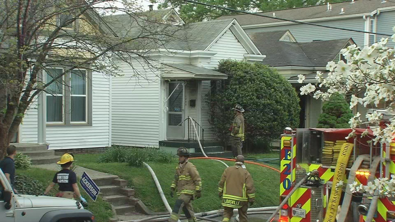A propane tank caught fire and spread to two homes in the Highlands on May 3, 2018.