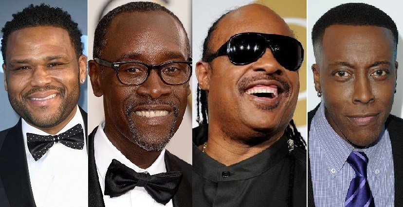 Anthony Anderson, Don Cheadle, Stevie Wonder and Arsenio Hall are expected to attend The Trifecta Gala on May 4, 2018.